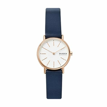 Skagen Damen Analog Quarz Uhr mit Leder Armband SKW2838 - 1