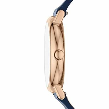 Skagen Damen Analog Quarz Uhr mit Leder Armband SKW2838 - 3