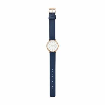 Skagen Damen Analog Quarz Uhr mit Leder Armband SKW2838 - 4