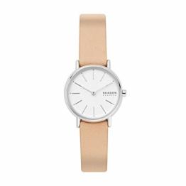 Skagen Damen Analog Quarz Uhr mit Leder Armband SKW2839 - 1