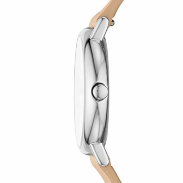 Skagen Damen Analog Quarz Uhr mit Leder Armband SKW2839 - 3