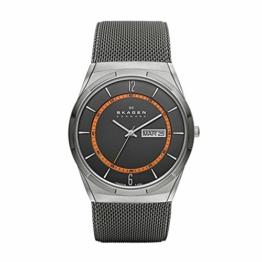 Skagen Herren Analog Quarz Uhr mit Edelstahl Armband SKW6007 - 1