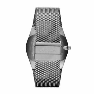 Skagen Herren Analog Quarz Uhr mit Edelstahl Armband SKW6007 - 3