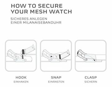 Skagen Herren Analog Quarz Uhr mit Edelstahl Armband SKW6007 - 6