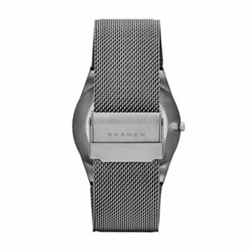 Skagen Herren Analog Quarz Uhr mit Edelstahl Armband SKW6078 - 2