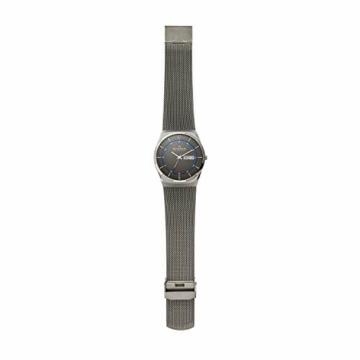 Skagen Herren Analog Quarz Uhr mit Edelstahl Armband SKW6078 - 5