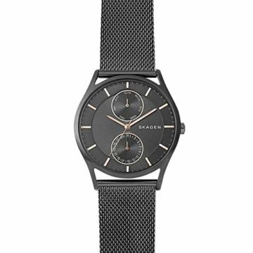 Skagen Herren Analog Quarz Uhr mit Edelstahl Armband SKW6180 - 2