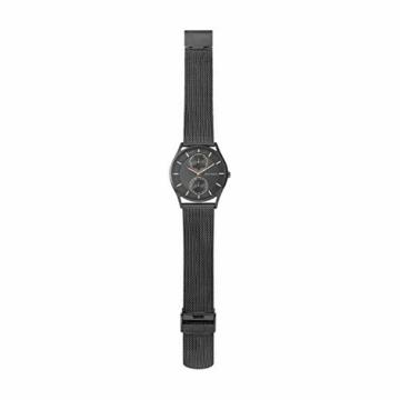 Skagen Herren Analog Quarz Uhr mit Edelstahl Armband SKW6180 - 4