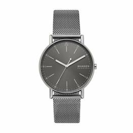 Skagen Herren Analog Quarz Uhr mit Edelstahl Armband SKW6577 - 1