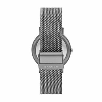 Skagen Herren Analog Quarz Uhr mit Edelstahl Armband SKW6577 - 2