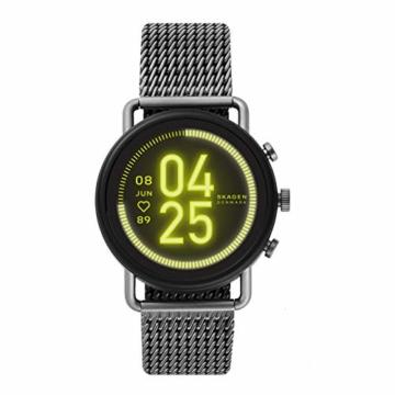 Skagen Smartwatch HR Falster 3 - Milanaise Tracking der Herzfrequenz, Google Assistant, Smartphone Benachrichtigungen, Aktivitätstracking, Google Pay und GPS - 1
