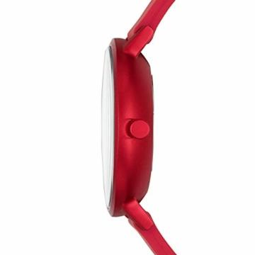 Skagen Unisex Erwachsene Analog Quarz Uhr mit Silikon Armband SKW2765 - 2