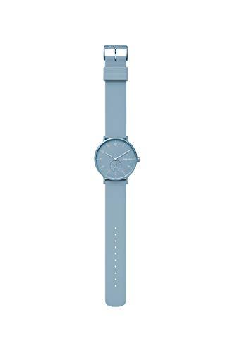 Skagen Unisex Erwachsene Analog Quarz Uhr mit Silikon Armband SKW6509 - 3