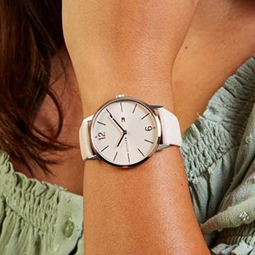 Tommy Hilfiger Damen Analog Quarz Uhr mit Leder Armband 1781973 - 2