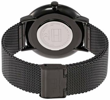Tommy Hilfiger Unisex Analog Quarz Uhr mit Edelstahl Armband 1791464 - 2