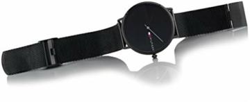 Tommy Hilfiger Unisex Analog Quarz Uhr mit Edelstahl Armband 1791464 - 4