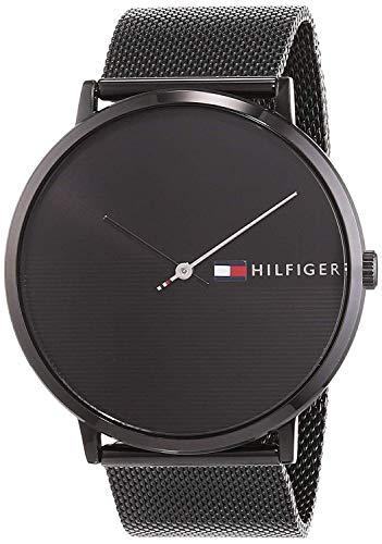 Tommy Hilfiger Unisex Analog Quarz Uhr mit Edelstahl Armband 1791464 - 5